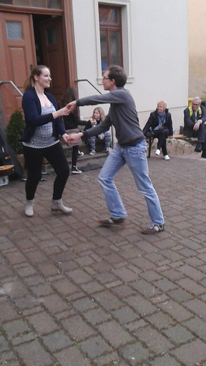 Kostprobe: Salsa tanzen