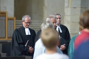 Amtseinführung von Pfarrer Jürgen Kohtz in St. Stephani in Calbe (Saale).