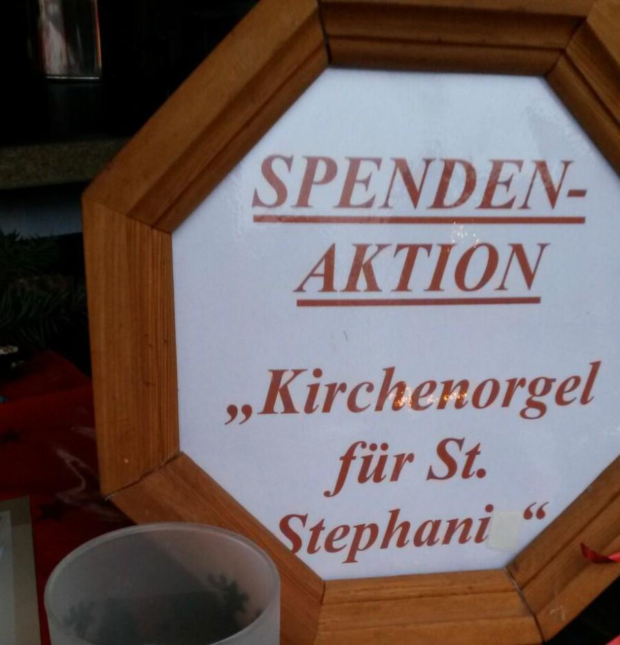 Viele Ideen für unsere Kirchenorgel in St.Stephani