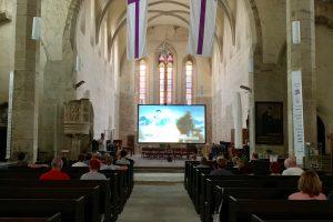 Sommerkino in der Kirche