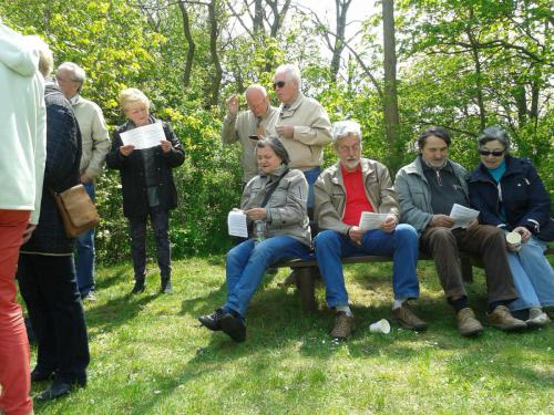 Andacht und Picknick auf dem Wartenberg am 1. Mai